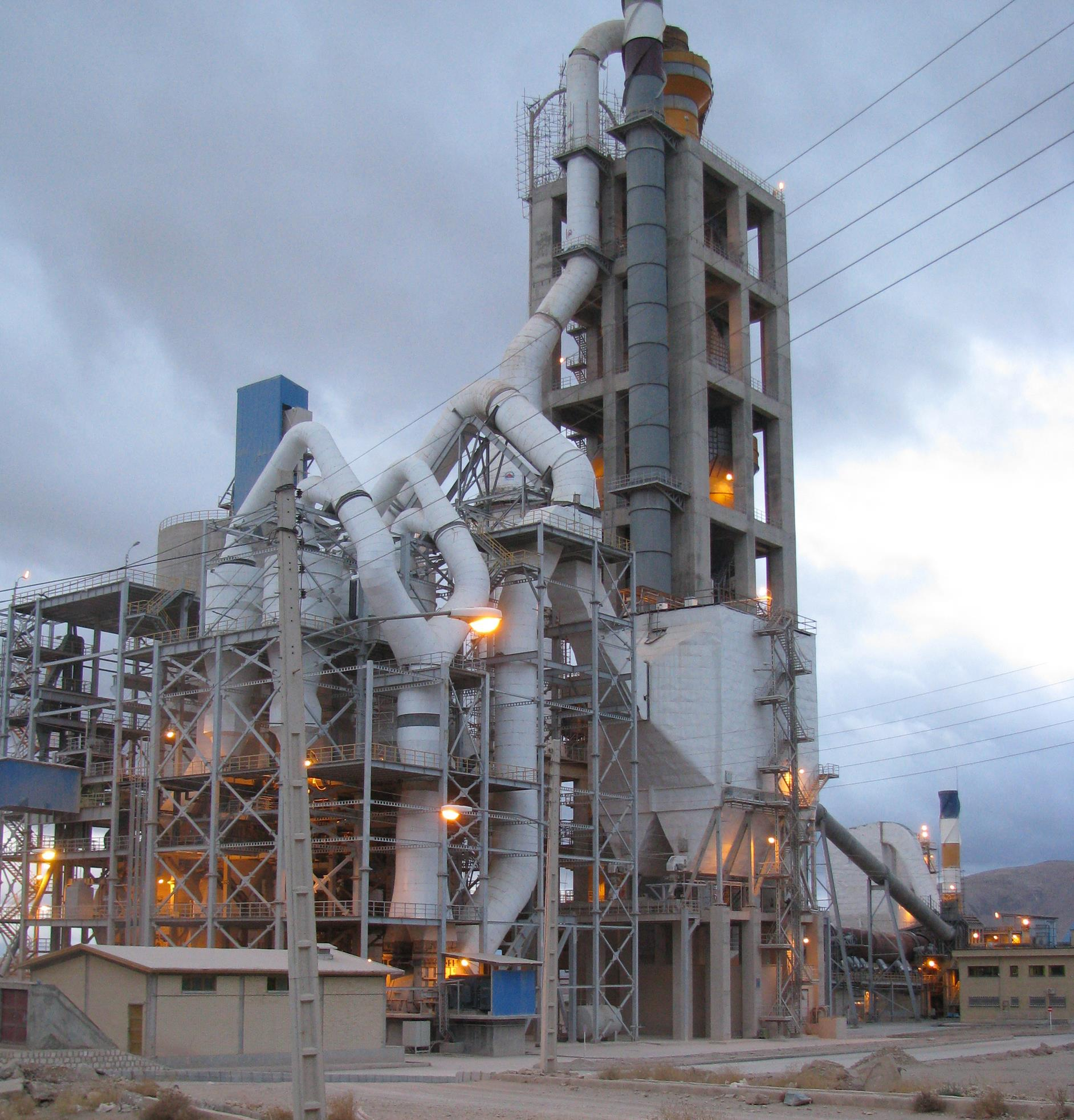 Sepahan cement production line